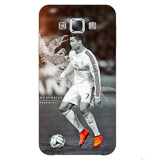 Absinthe Cristiano Ronaldo Real Madrid Back Cover Case For Samsung Grand Max