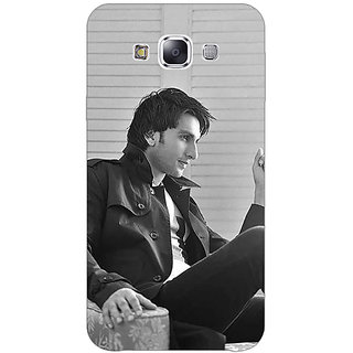 Absinthe Bollywood Superstar Ranveer Singh Back Cover Case For Samsung A8