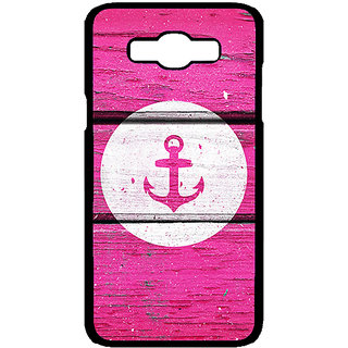 Absinthe Anchor Back Cover Case For Samsung Galaxy J7