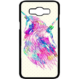 Absinthe Unicorn  Back Cover Case For Samsung Galaxy J7