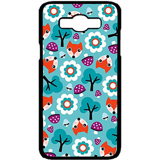Absinthe Winter Pattern  Back Cover Case For Samsung Galaxy J7