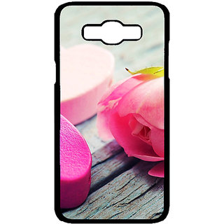 Absinthe Hearts Back Cover Case For Samsung Galaxy J7