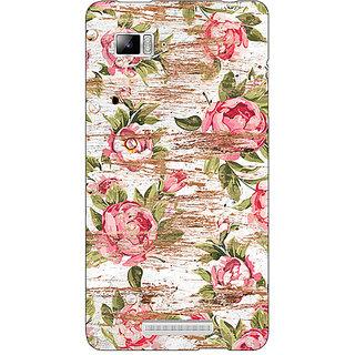 Absinthe Floral Pattern  Back Cover Case For Lenovo K910