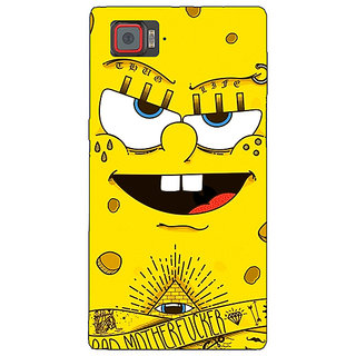 Absinthe Spongebob Back Cover Case For Lenovo K920