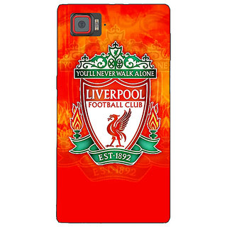 Absinthe Liverpool Back Cover Case For Lenovo K920