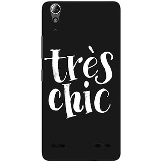 Absinthe Quote Back Cover Case For Lenovo A6000 Plus
