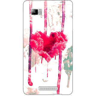 Absinthe Love Heart  Back Cover Case For Lenovo K910