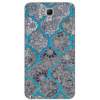 Absinthe Blue Morroccan Pattern Back Cover Case For Samsung Note 3 Neo
