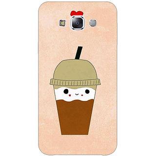 Absinthe Milkshake Love Back Cover Case For Samsung A8