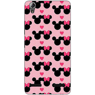Absinthe Mickey Minnie Mouse Back Cover Case For Lenovo A6000 Plus