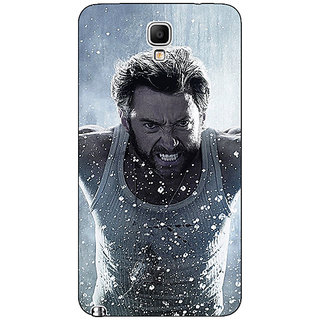 Absinthe Wolverine Hugh Jackman Back Cover Case For Samsung Note 3 Neo