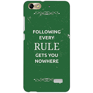 Absinthe SUITS Quotes Back Cover Case For Huawei Honor 4C