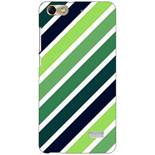 Absinthe Stripes Pattern Back Cover Case For Huawei Honor 4C