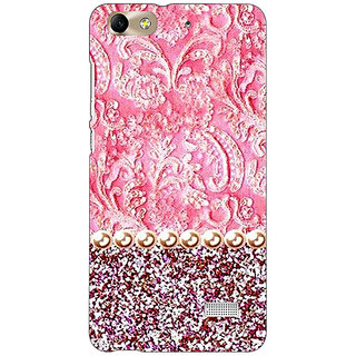 Absinthe Pearl Pink Back Cover Case For Huawei Honor 4C