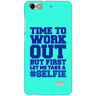 Absinthe Selfie Quote Back Cover Case For Huawei Honor 4C