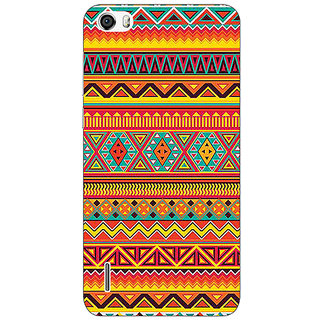 Absinthe Aztec Girly Tribal Back Cover Case For Huawei Honor 6