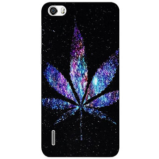 Absinthe Weed Marijuana Back Cover Case For Huawei Honor 6