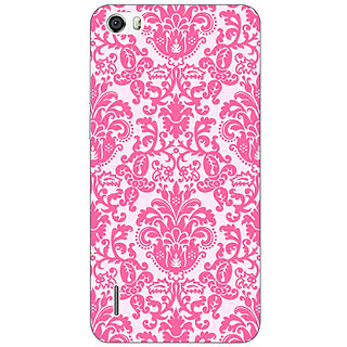 Absinthe Pretty Pink Back Cover Case For Huawei Honor 6