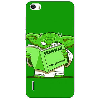 Absinthe Grammar Yoda Back Cover Case For Huawei Honor 6