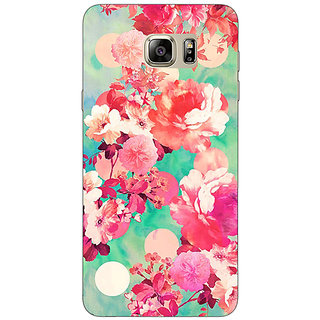 Absinthe Floral Pattern  Back Cover Case For Samsung Galaxy Note 5