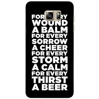 Absinthe Beer Quote Back Cover Case For Samsung Galaxy Note 5