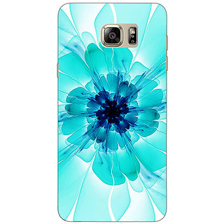 Absinthe Abstract Flower Pattern Back Cover Case For Samsung Galaxy Note 5