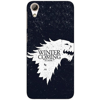 Absinthe Game Of Thrones GOT House Stark  Back Cover Case For HTC Desire 626