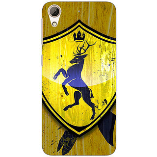Absinthe Game Of Thrones GOT House Baratheon  Back Cover Case For HTC Desire 626