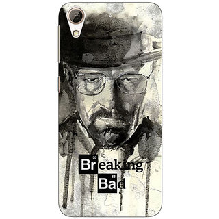 Absinthe Breaking Bad Heisenberg Back Cover Case For HTC Desire 626