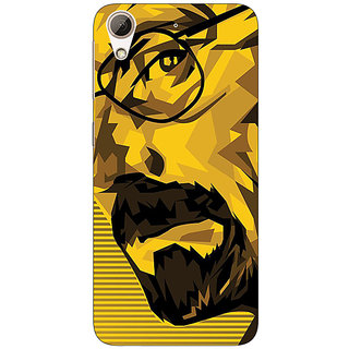 Absinthe Breaking Bad Heisenberg Back Cover Case For HTC Desire 626