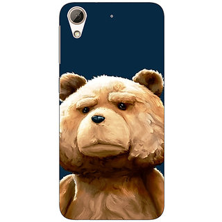 Absinthe TED Teddy Back Cover Case For HTC Desire 626