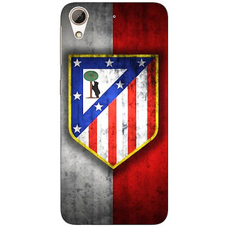 Absinthe Athletico Madrid Back Cover Case For HTC Desire 626