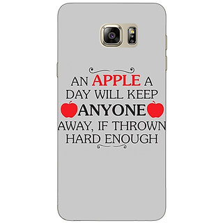 Absinthe Apple Quote Back Cover Case For Samsung Galaxy Note 5