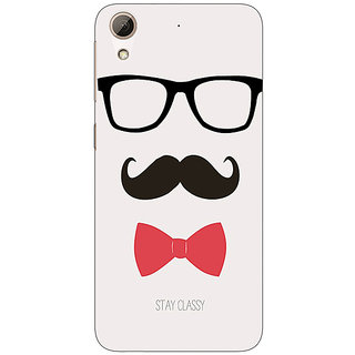 Absinthe Mustache Back Cover Case For HTC Desire 626
