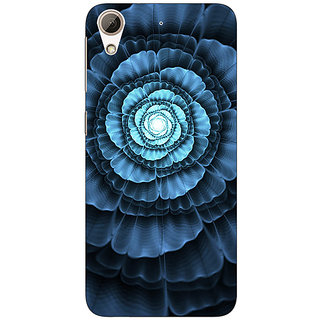Absinthe Abstract Flower Pattern Back Cover Case For HTC Desire 626
