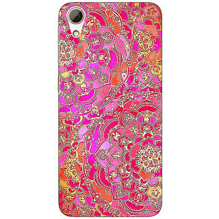 Absinthe Hot Floral  Pattern Back Cover Case For HTC Desire 626G