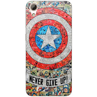 Absinthe Superheroes Captain America Back Cover Case For HTC Desire 626G