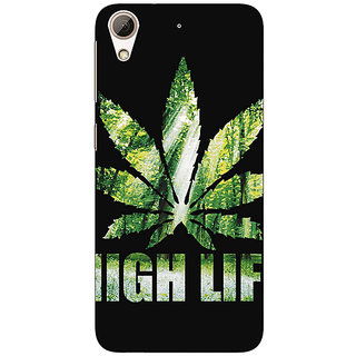 Absinthe Weed Marijuana Back Cover Case For HTC Desire 626G