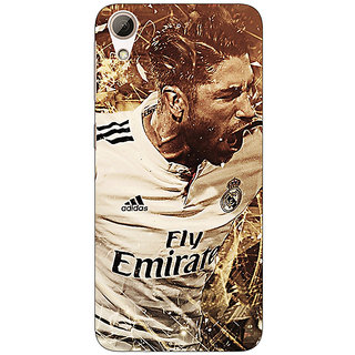 Absinthe Real Madrid Sergio Ramos Back Cover Case For HTC Desire 626G
