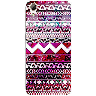 Absinthe Tribal Back Cover Case For HTC Desire 626