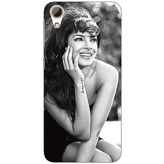 Absinthe Bollywood Superstar Priyanka Chopra Back Cover Case For HTC Desire 626G
