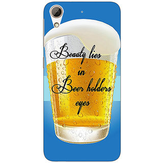 Absinthe Beer Holder Back Cover Case For HTC Desire 626G