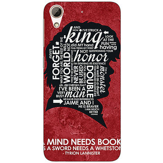 Absinthe Game Of Thrones GOT House Lannister Tyrion Back Cover Case For HTC Desire 626