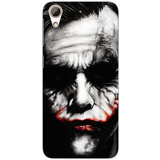 Absinthe Villain Joker Back Cover Case For HTC Desire 626G+