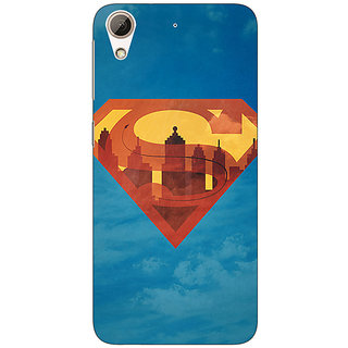 Absinthe Superheroes Superman Back Cover Case For HTC Desire 626G