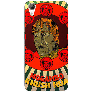 Absinthe Bollywood Superstar Mr. India Mogambo Back Cover Case For HTC Desire 626G