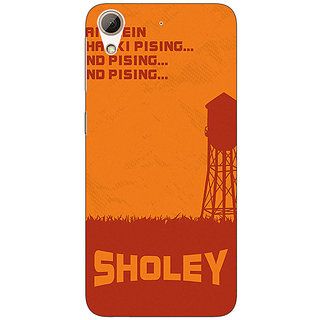 Absinthe Bollywood Superstar Sholay Back Cover Case For HTC Desire 626G