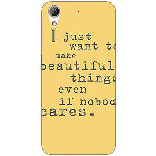 Absinthe Quote Back Cover Case For HTC Desire 626G
