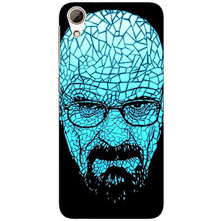 Absinthe Breaking Bad Heisenberg Back Cover Case For HTC Desire 626G+