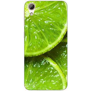 Absinthe Lemons Back Cover Case For HTC Desire 626G+